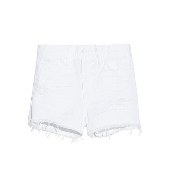 J Brand 1046 Low-Rise Cut-Off Denim Shorts