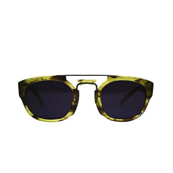 Wild Soul Emerald Rhino Sunglasses