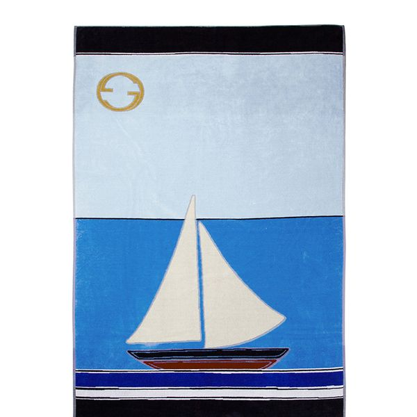 Gucci Printed Cotton Beach Towel