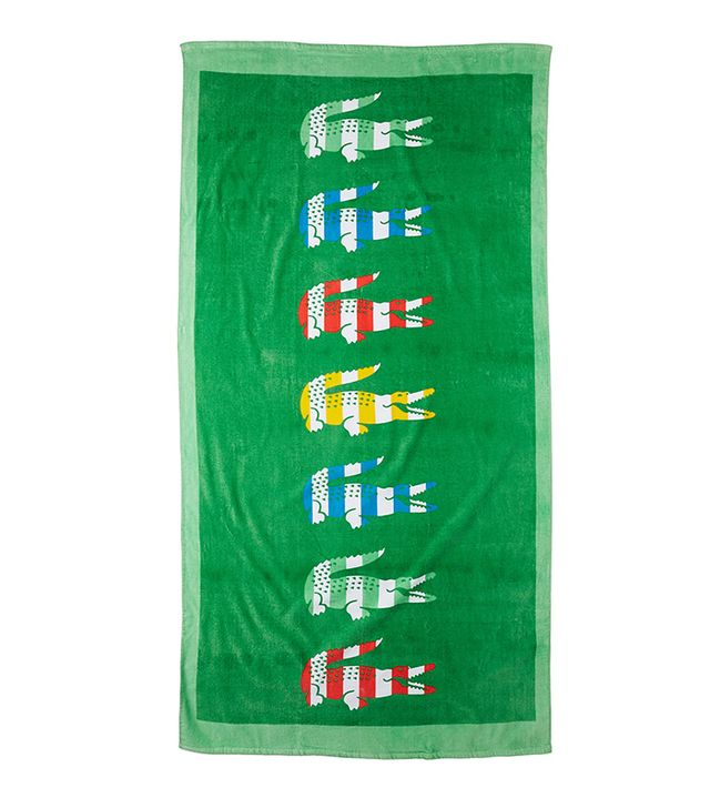 Lacoste Bayadere Beach Towel