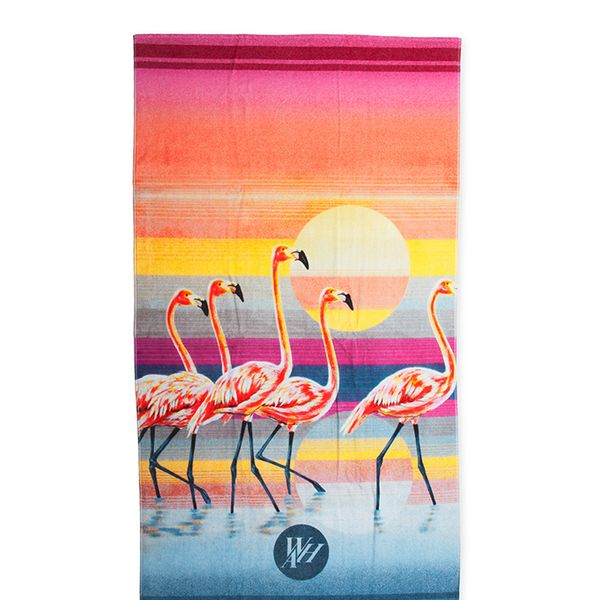We Are Handsome The Bahamas Beach Towel