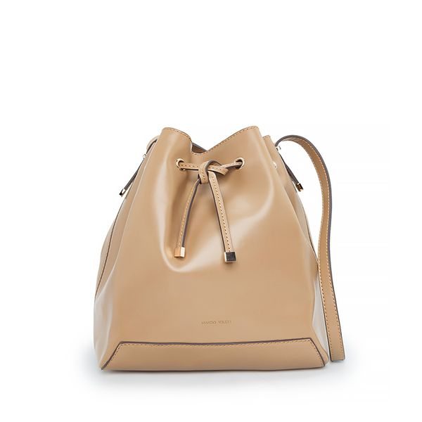 Mango Contrast Bucket Bag