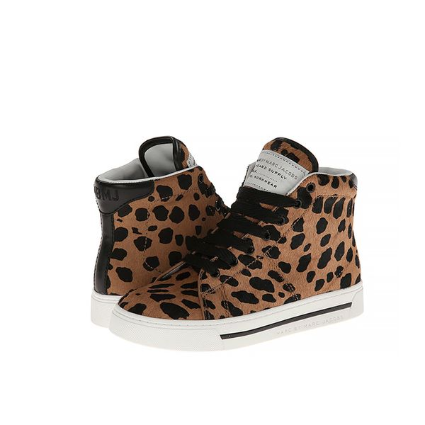 Marc by Marc Jacobs Spotted Calf Hair 10mm High Top Sneakers