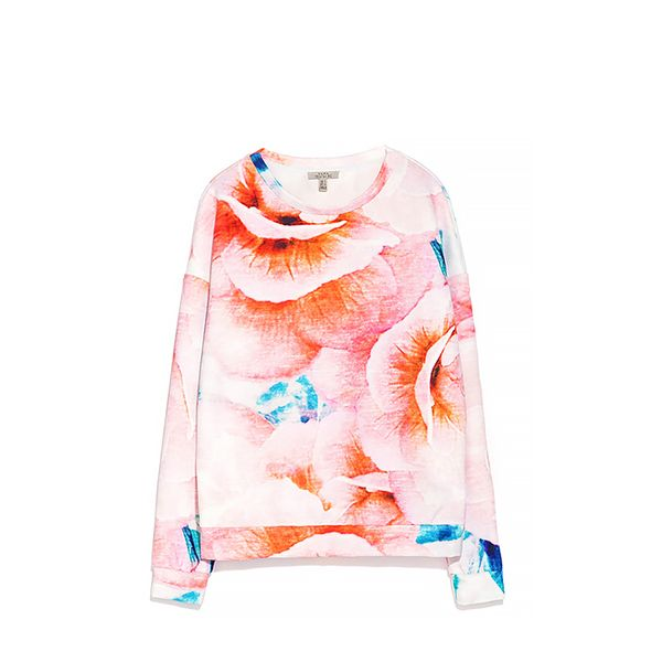 Zara Neoprene Sweatshirt