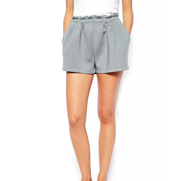 ASOS High Waisted Scuba Shorts