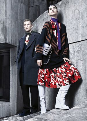 A First Look At Prada's F/W 2014 Campaign