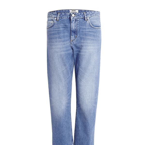 Acne Pop Vintage Straight Leg Boyfriend Jeans