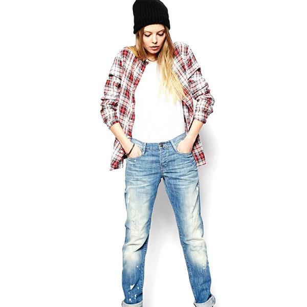 ASOS Brady Low Rise Boyfriend Jeans
