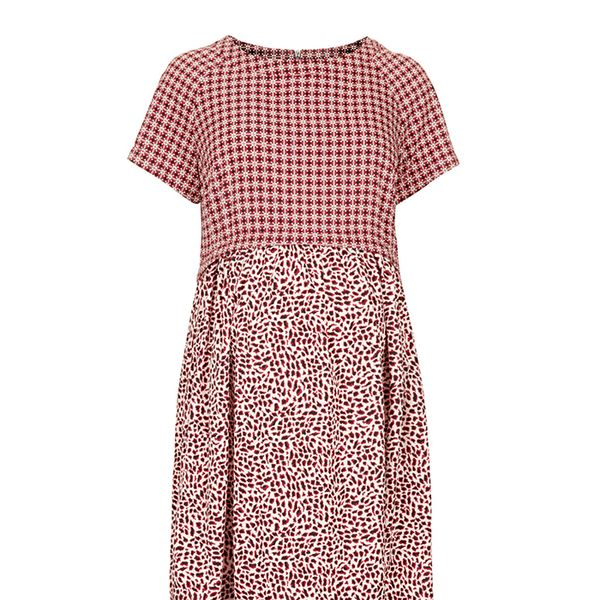 Topshop Maternity Animal Tile Dress