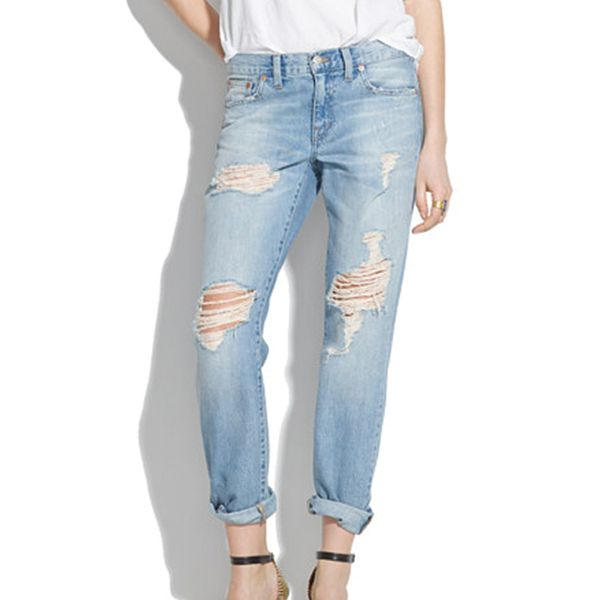 Madewell The Boyjean: Worn and Torn Edition Jeans