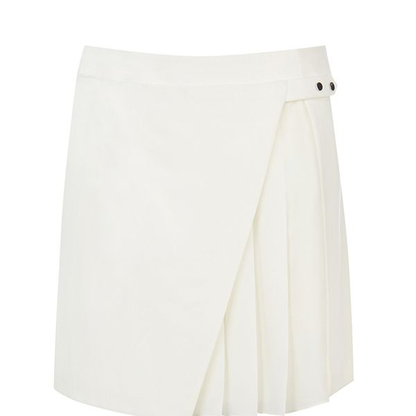 Warehouse Origami Kilt Skirt