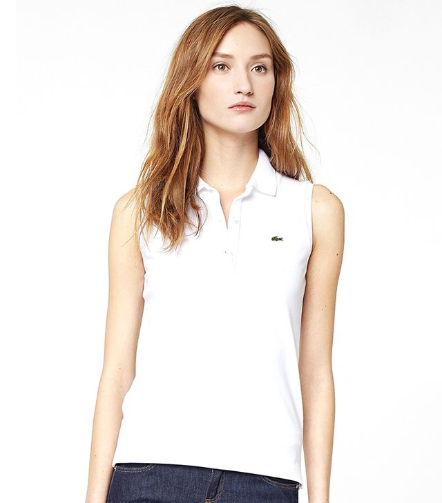 Lacoste Sleeveless Stretch Pique Polo