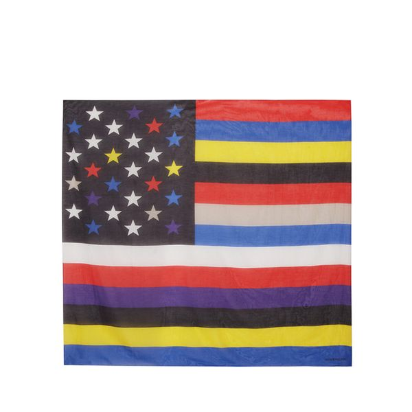 Givenchy Square Scarf American Flag