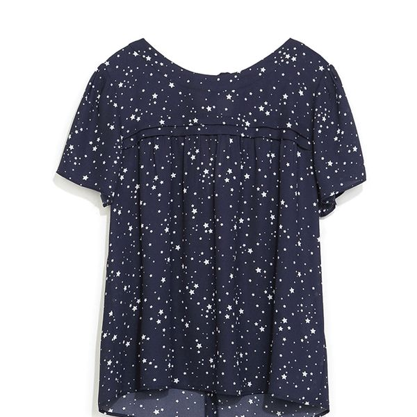 Zara Star Print Top