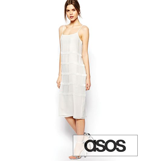 ASOS Cami Dress With Geometric Sequin Embellishment