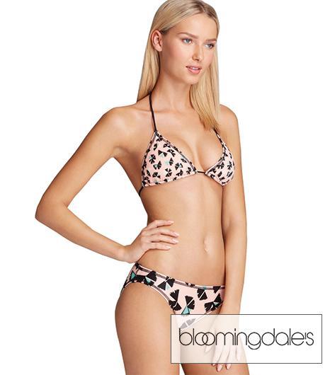 Marc by Marc Jacobs Pinwheel Triangle Bikini Top & Pinwheel Classic Bikini Bottom