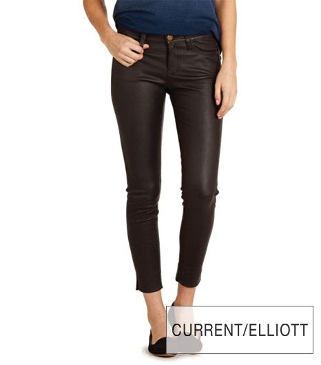Current/Elliott The Side Slit Stiletto Pants