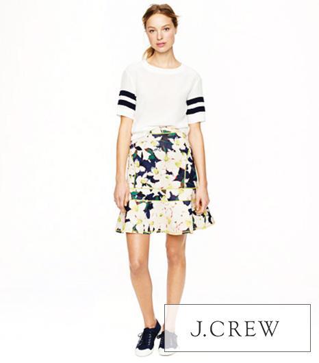 J. Crew Surf Skirt