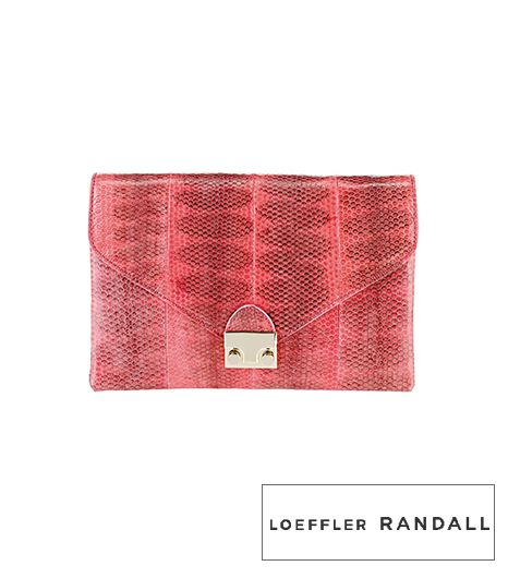 Loeffler Randall Lock Clutch