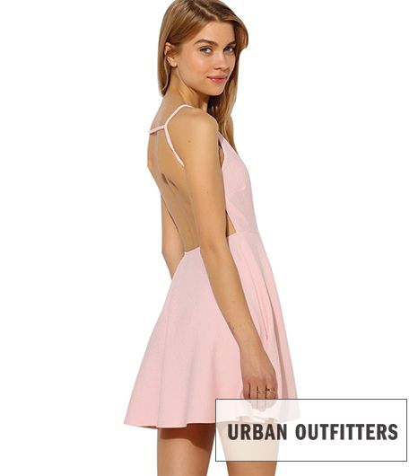 Oh My Love Strappy-Bake Skater Dress