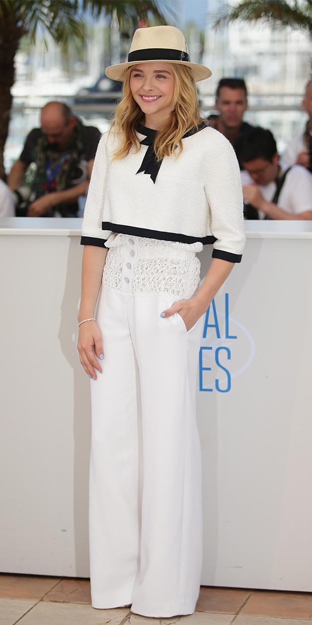 Chloe Grace Moretz Is Lovely In Chanel