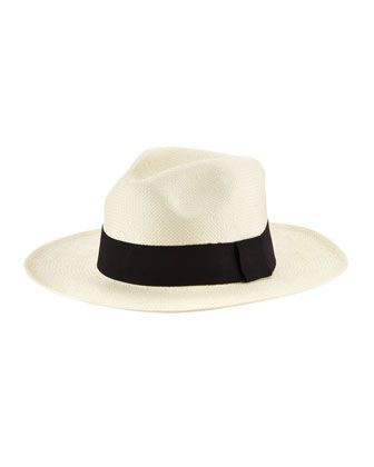 Michael Stars Well Weathered Classic Panama Hat