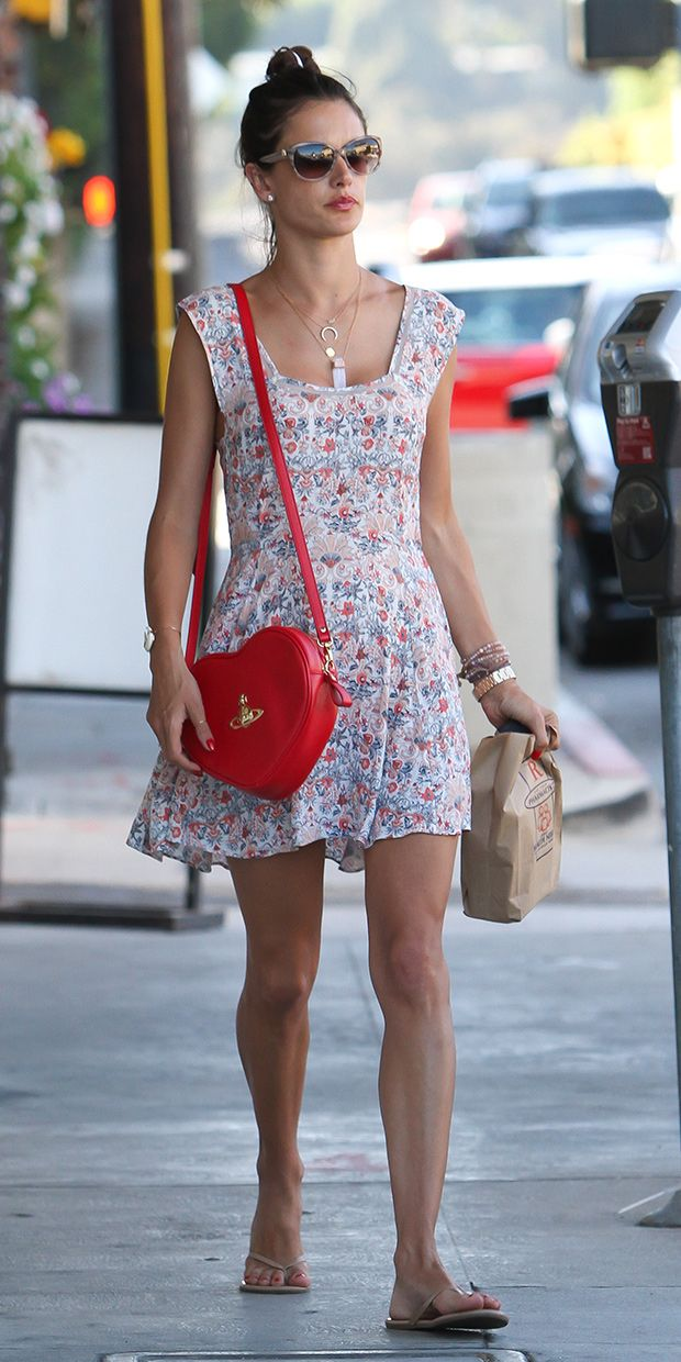 Alessandra Ambrosio Inspires Our Weekend Barbecue Look