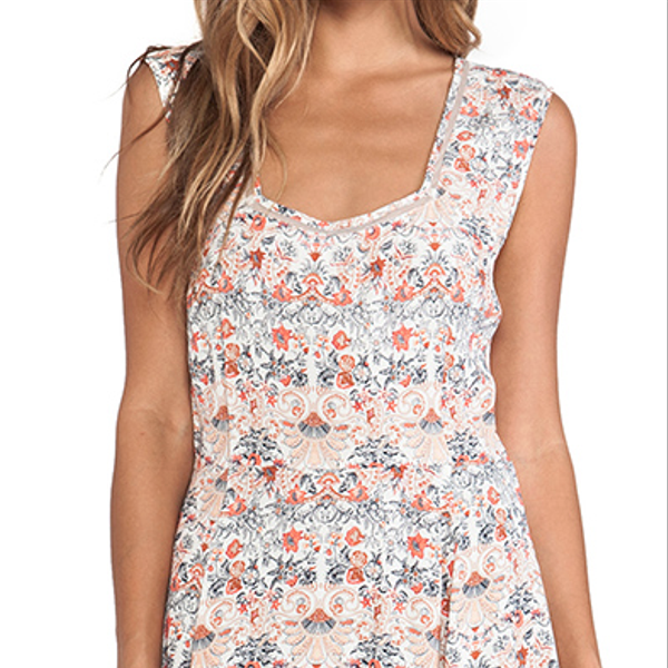Tigerlily Italienne Floral Dress