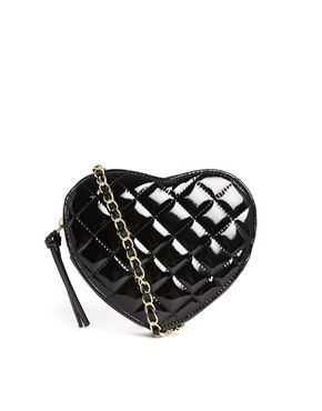 ASOS Quilted Heart Cross Body Bag