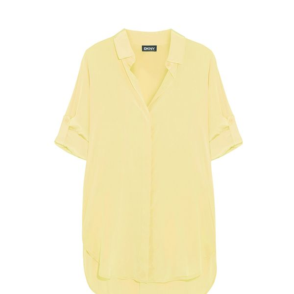 DKNY Stretch-Silk Shirt