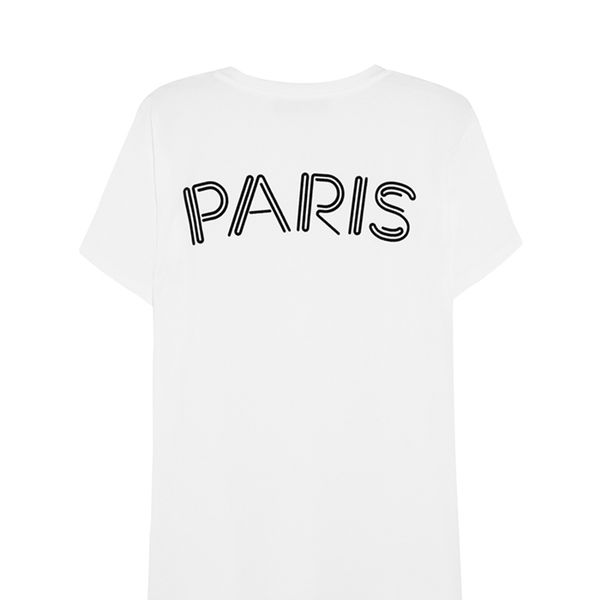 Emanuel Ungaro Paris Flocked T-Shirt
