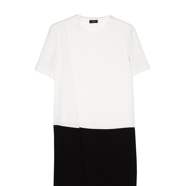 Joseph Starr Crepe Monochrome Dress