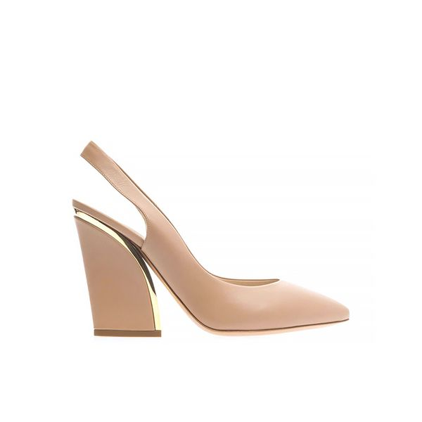 Chloé Point-Toe Slingback Pumps