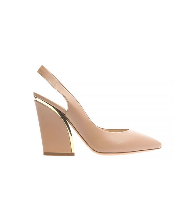 Chloé Point-Toe Slingback Pumps ($819)