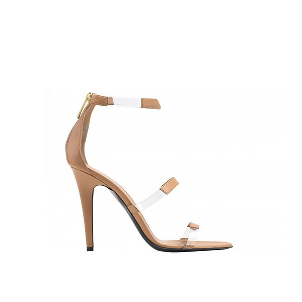 Tamara Mellon Frontline Nappa  Sandals