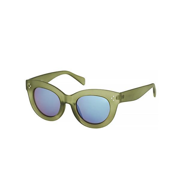 Topshop Sierra Revo Cateye Sunglasses