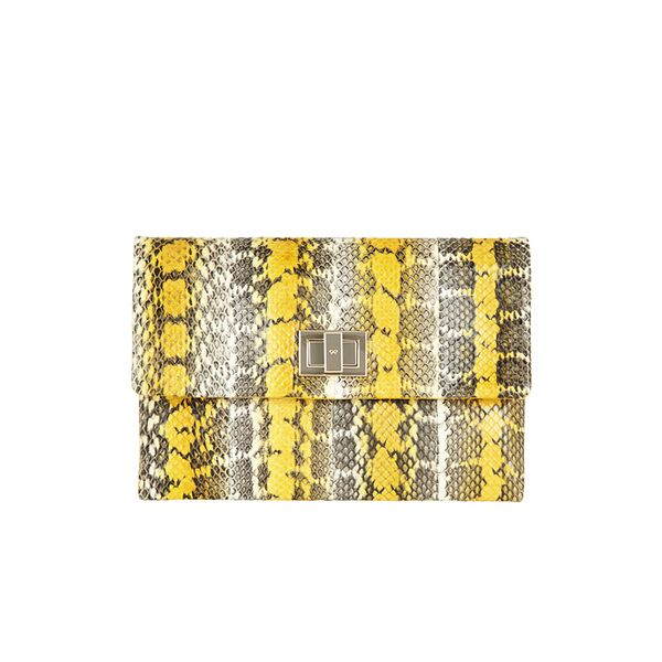 Anya Hindmarch Valorie Elaphe Clutch
