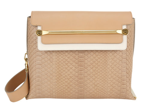 Chloé Python Medium Clare Shoulder Bag