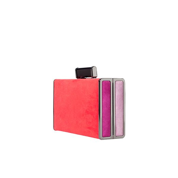 Zara Colour Block Minaudiere