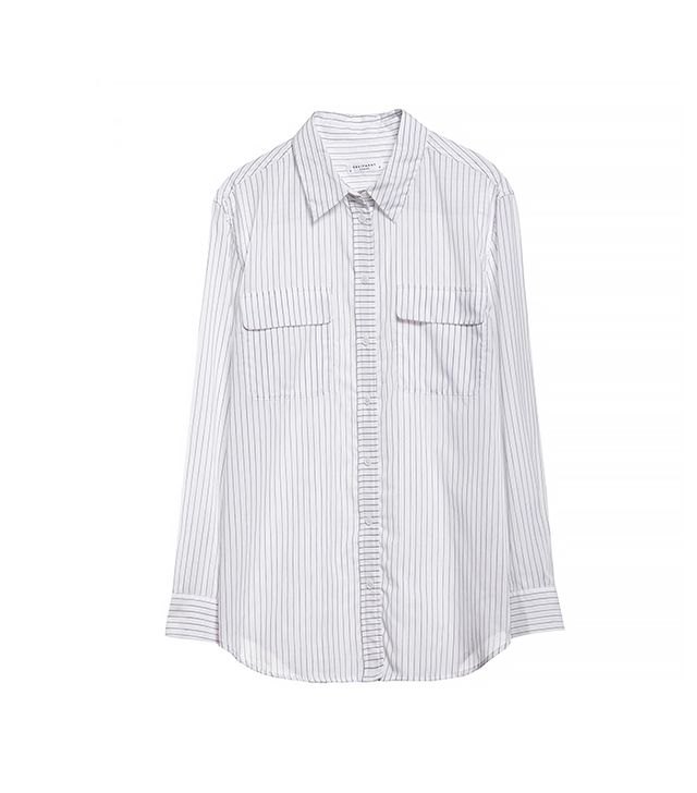 Equipment Signature Vertical Idle Pinstripe Shirt ($178)