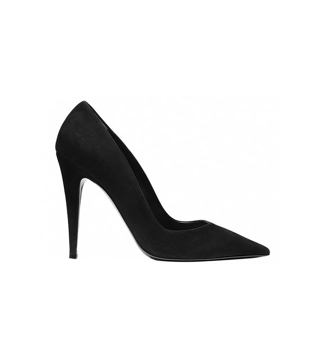 Tamara Mellon Addiction Suede Heels ($495)