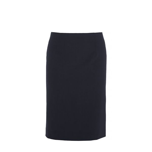 Theory Golda 2 Skirt In Urban Stretch Wool