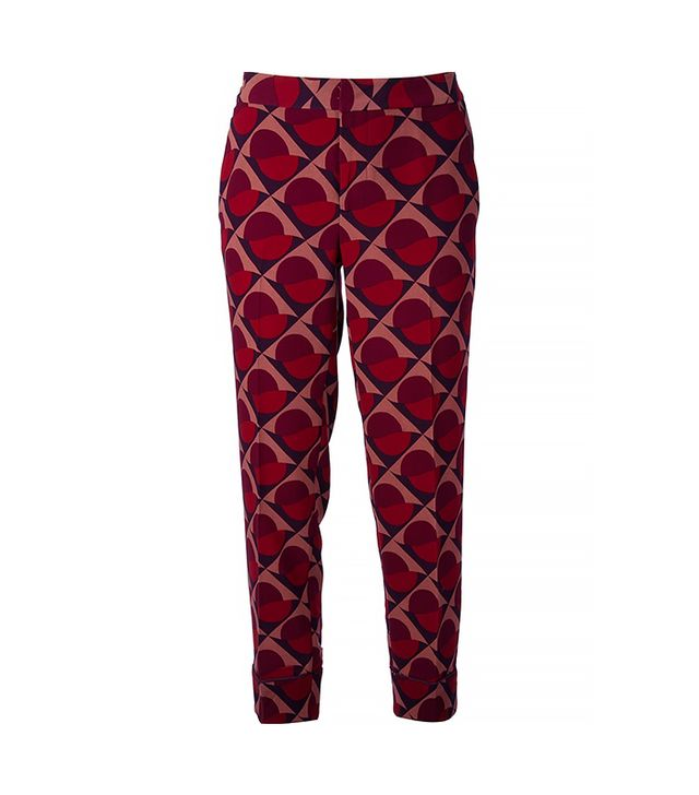 Marc by Marc Jacobs Retro Geometric Printed Trousers ($407)