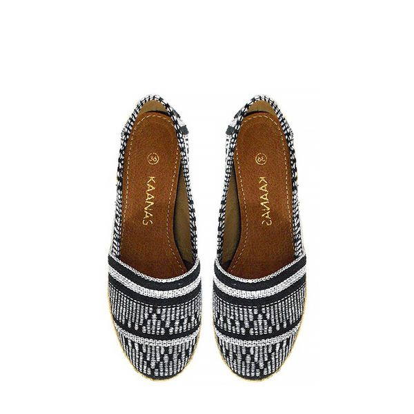 Kanaas Cabo De Vela Black Shoes