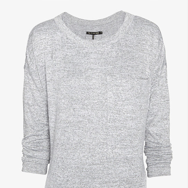 Rag & Bone/JEAN Long Sleeve Pocket Tee