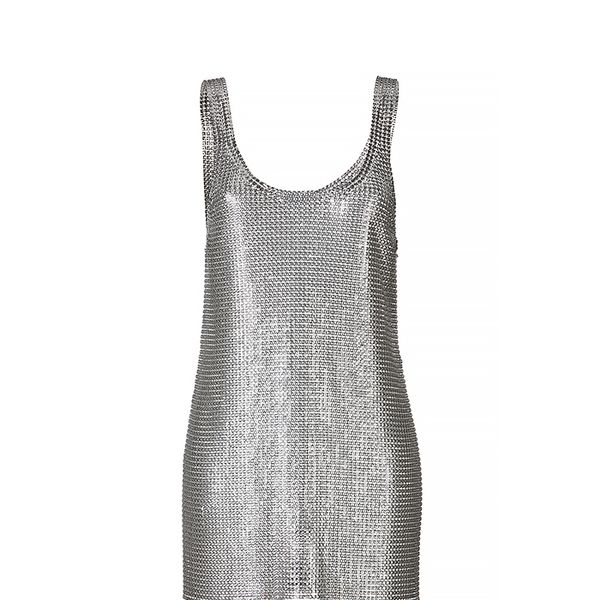 Paco Rabanne Chain Metal Dress
