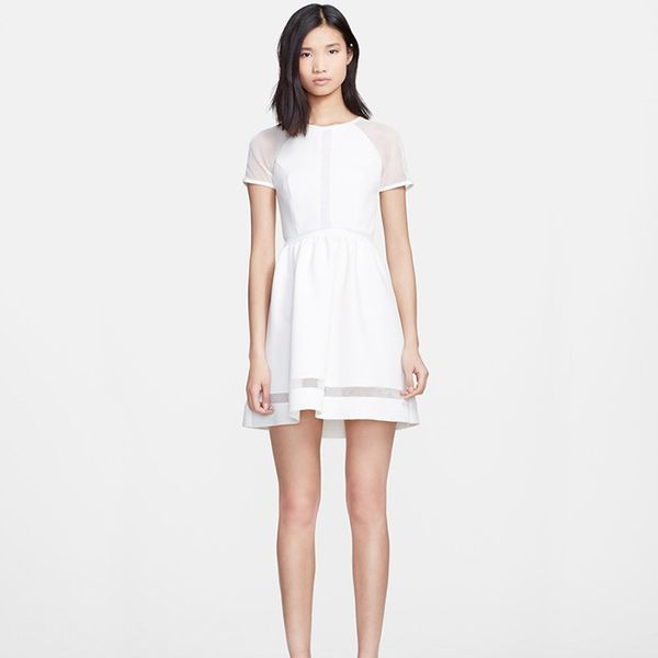Rachel Zoe Baxter Fit & Flare Dress