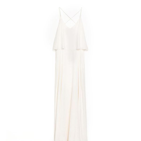 Zara Maxi Dress with Fine Straps