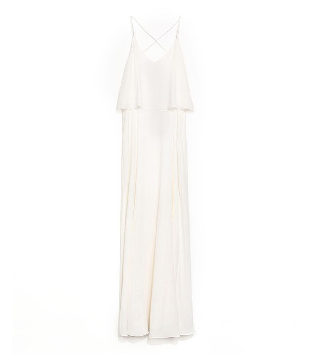 Zara Maxi Dress with Fine Straps ($100)