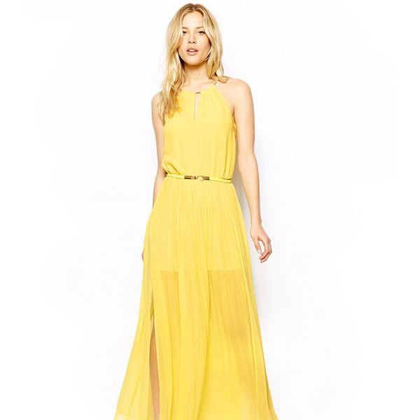 Oasis Chain Neck Maxi Dress